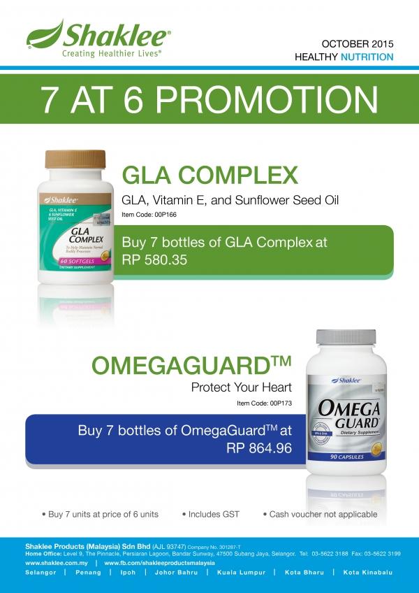 october 2015 promotion omega gla